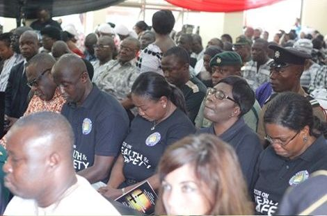 FIRST PHOTOS: Memorial Service Held For Victims Of June 3 Disaster