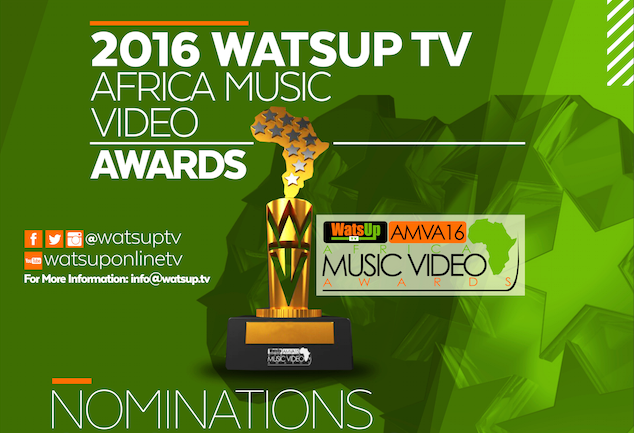 Bisa Kdei, Shatta Wale, Sarkodie, Wizkid, Flavour, Others Nominated For WAMVA 2016 + Full List
