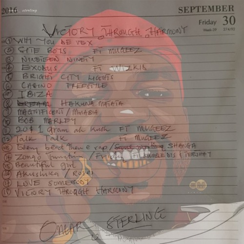 Omar Sterling ft. Mugeez 20 1 Gram Ah Kush Prod. By Killmatic - Omar Sterling ft. Mugeez - 20$ 1 Gram Ah Kush (Prod. By Killmatic) (VTH Album)