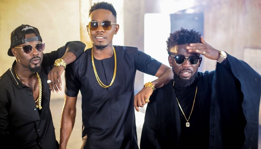 27418674 - BTS: Bisa Kdei x Patoranking shoots video for 'Life', behind the scene photos
