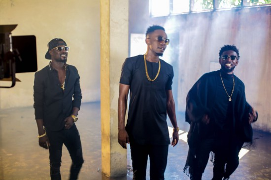 31057454.full  - BTS: Bisa Kdei x Patoranking shoots video for 'Life', behind the scene photos