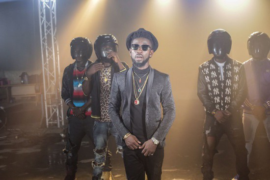 71676396.full  - BTS: Bisa Kdei x Patoranking shoots video for 'Life', behind the scene photos