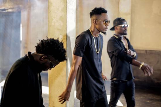 83934232.full  - BTS: Bisa Kdei x Patoranking shoots video for 'Life', behind the scene photos
