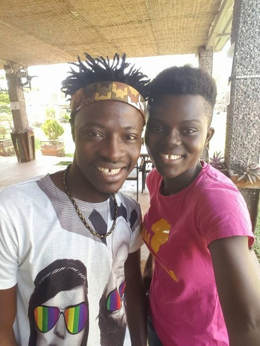Possible collaboration between Wiyaala and Fancy Gadam?