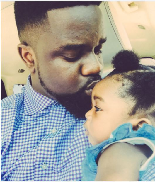 Sarkodie daughter titi - I think I kiss my daughter too much - Sarkodie