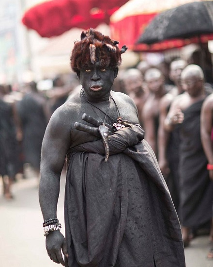 Top 5 'scariest' photos from Asantehemaa's funeral