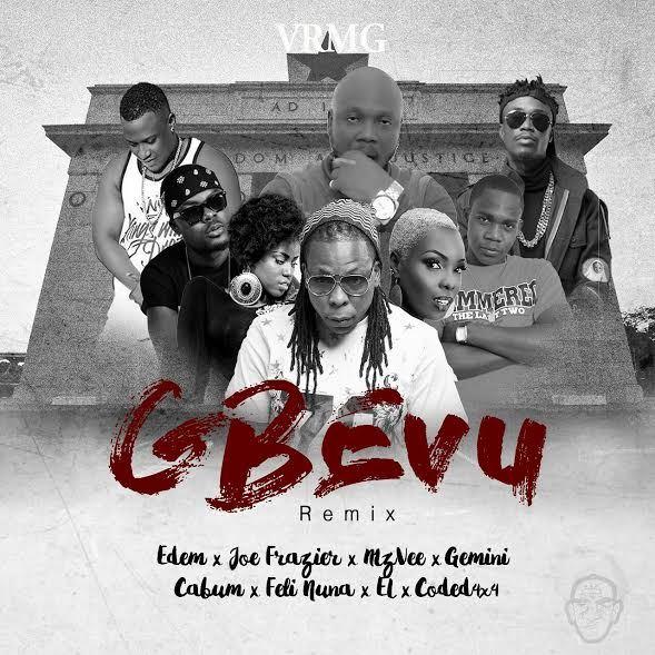 Edem - Gbevu (Remix) ft. Joe Frazier, MzVee, Gemini, Cabum, Feli Nuna, E.L