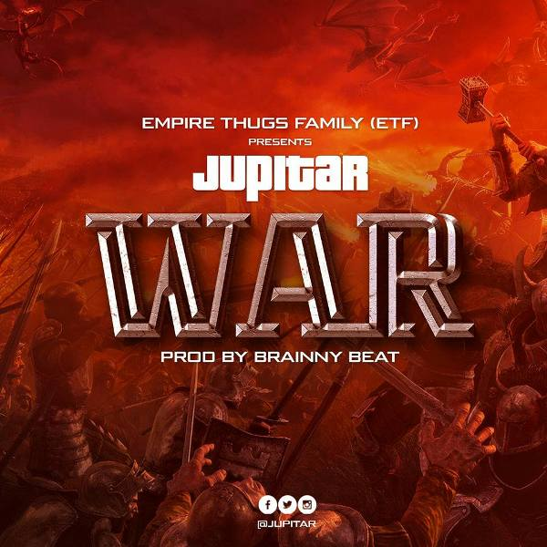 Jupitar - War (Stonebwoy Diss) (Prod. by Brainy Beatz)