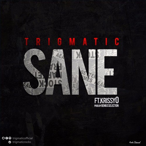 Trigmatic Sane ft. KrissyO - Trigmatic - Sane ft. KrissyO (Prod. by Genius Selection)