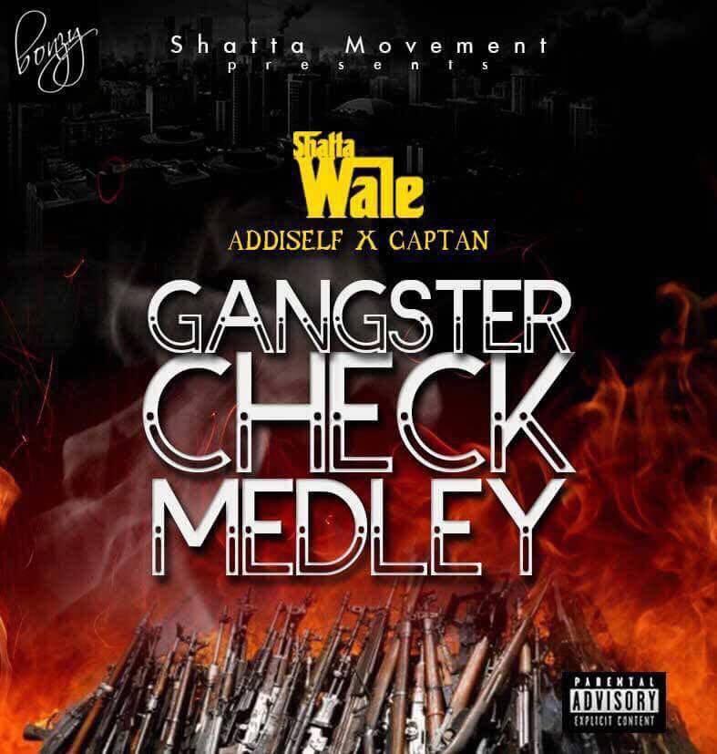 Shatta Wale Captan Addi Self Gangsta Check Medley prod by Damaker 1 - Shatta Wale x Captan x Addi Self - Gangsta Check Medley (prod. by Damaker)