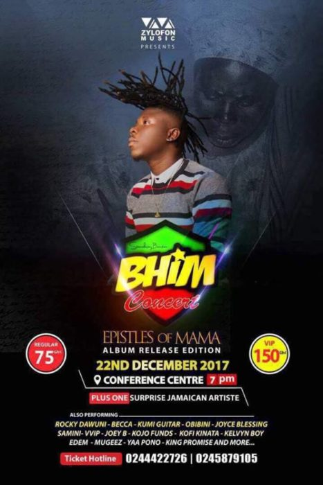 "Tickets Out For ""BHIM"" Concert ""EOM"" Album Release Edition"" Slated For December 22"